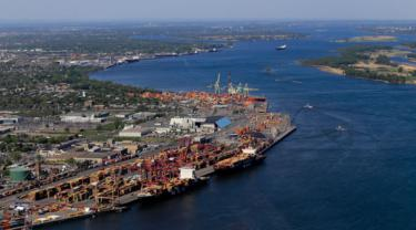 Port of Montreal exports