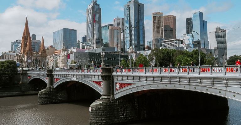 Bridge in Melbourne, Australia
