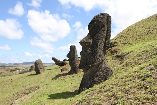 Easter Island in Chile