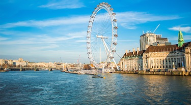 Le London Eye, au Royaume-Uni