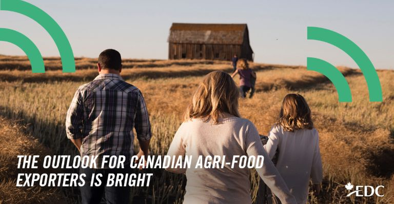 Canada's agri-food sector poised for growth | EDC