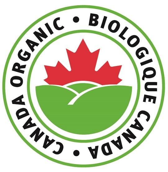 Bilingual organic food label