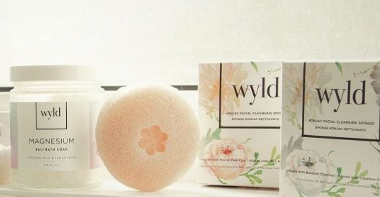 Various Wyld Skincare products